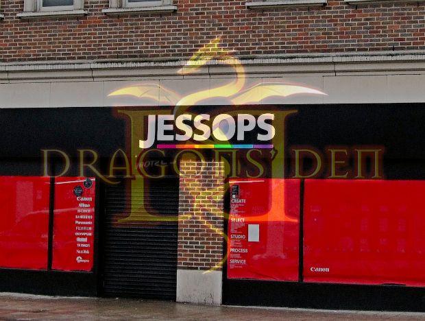 Marca Jessops vai viver online graças à realidade UK Star TV Peter Jones