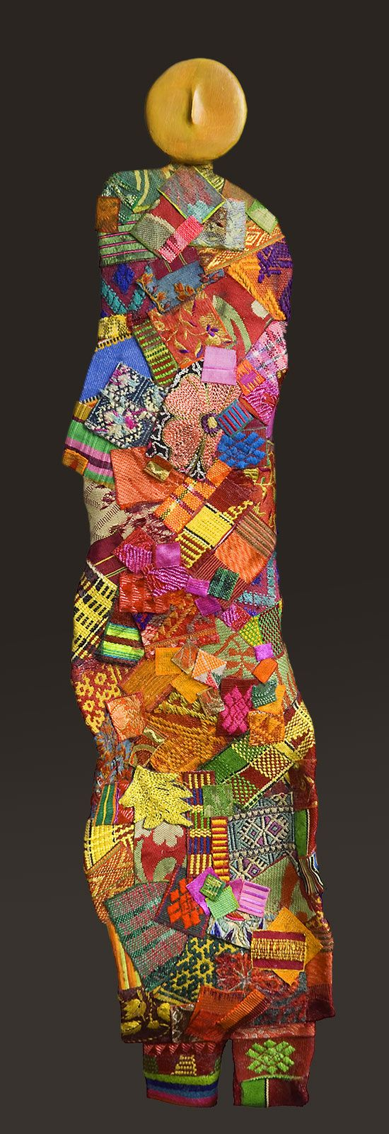 Georgette Benisty - Fiber Artist - Wall Sculpture
