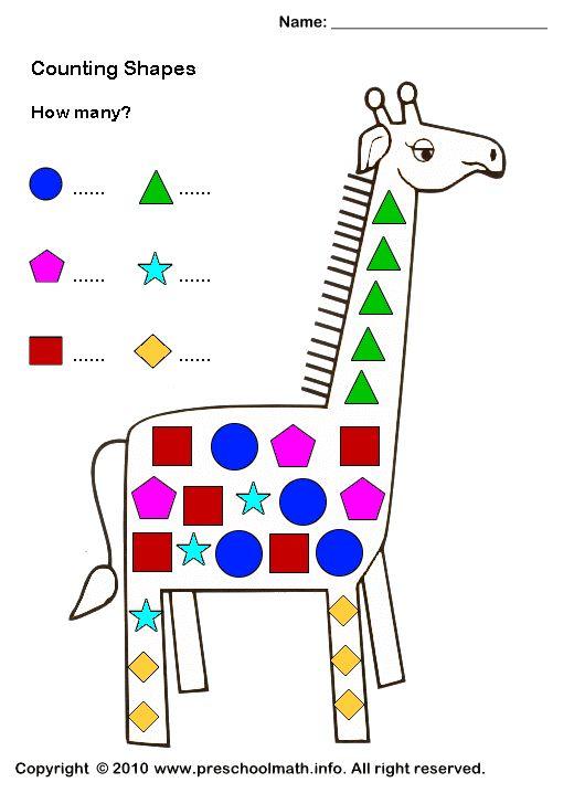 shape activities for preschoolers shapes worksheets for for preschool kindergarten first. Black Bedroom Furniture Sets. Home Design Ideas