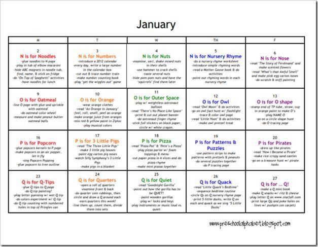march lesson plan calendar of ideas