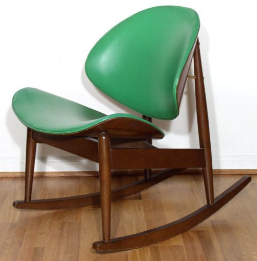 Seymour James Weiner; Rocking Chair For Kodawood, 1950s.