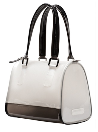 Melie Bianco. Loving this jelly bag trend!