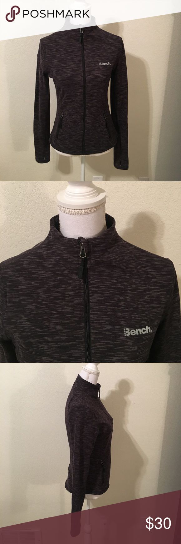 NWOT Bench Athletic Jacket. NWOT.  Bench Athletic Jacket.  Size M. Women's.   Thumb holes.  Excellent Condition!!! Bench Jackets & Coats