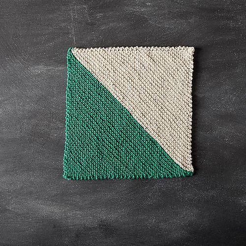 Ravelry: Slant Dishcloth pattern by Stacey Winklepleck Knit Dish/Wash Cloth...