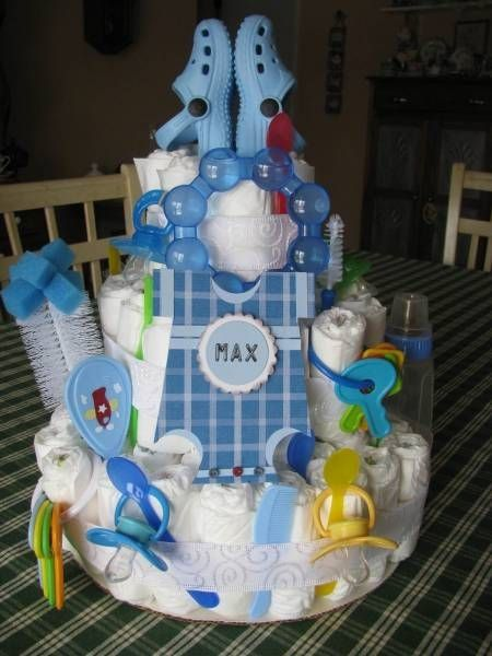 Diaper Cake by antonia