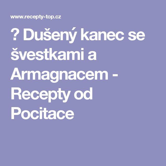 ♨ Dušený kanec se švestkami a Armagnacem - Recepty od Pocitace