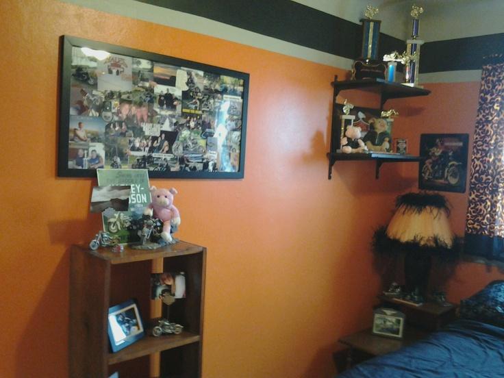 17 Best Images About Harley Davidson Bedroom On Pinterest
