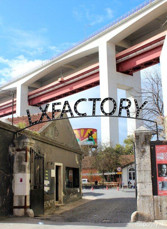 Creatieve broedplaats LX Factory, Lissabon                                                                                                                                                                                 More