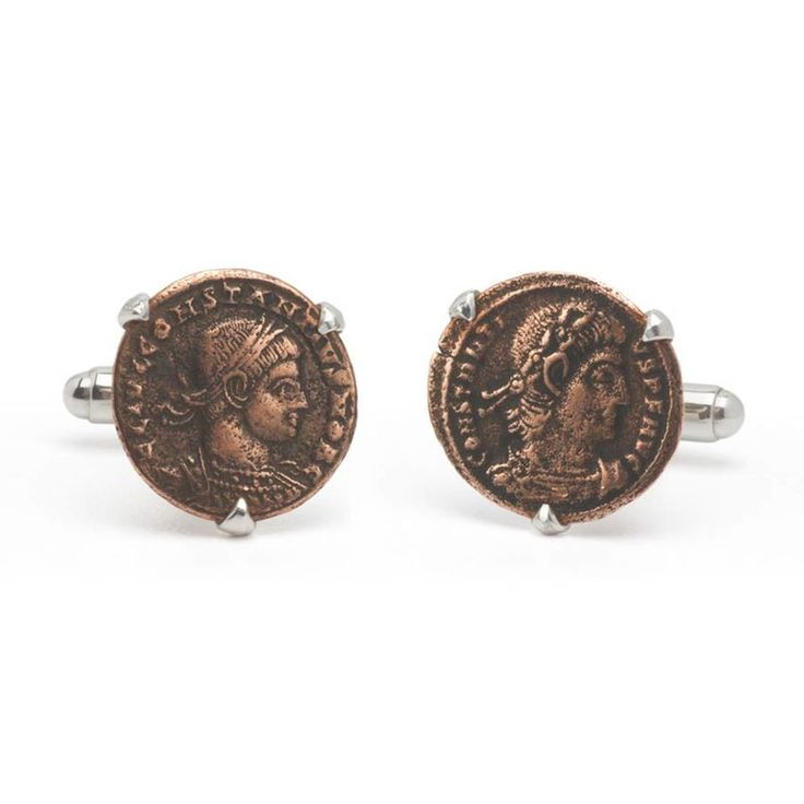 Roman Coin Cufflinks by Tokens & Icons from Allen Edmonds web store