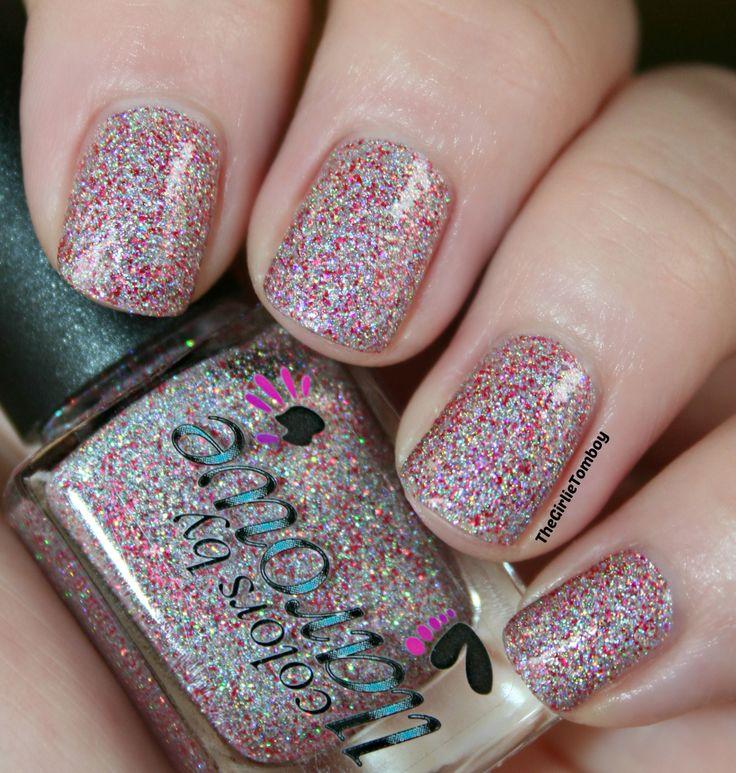 girlie tomboy nails