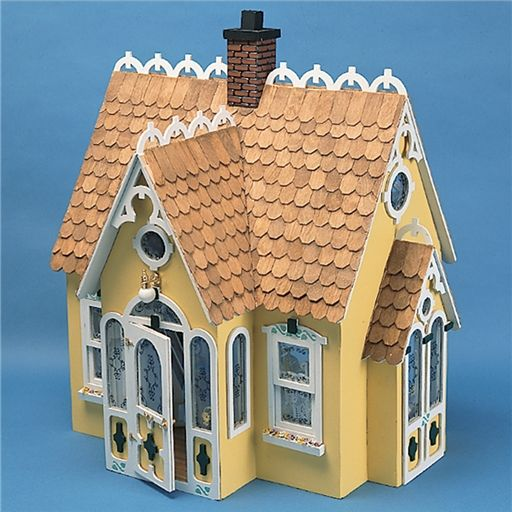 The Buttercup Cottage Dollhouse by Corona, I think this would make a terrific Samhain (Halloween) scened home...