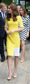 Kate Middleton, Duchess of Cambridge recycles dress for Wimbledon | Daily Mail Online