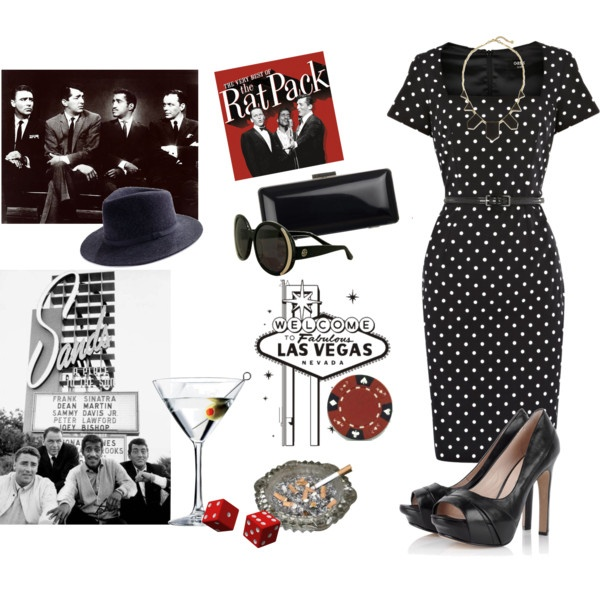 rat pack chic for the ladies