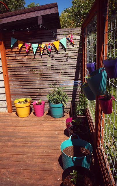 New Wave Domesticity: An Easy DIY Outdoor Bunting!