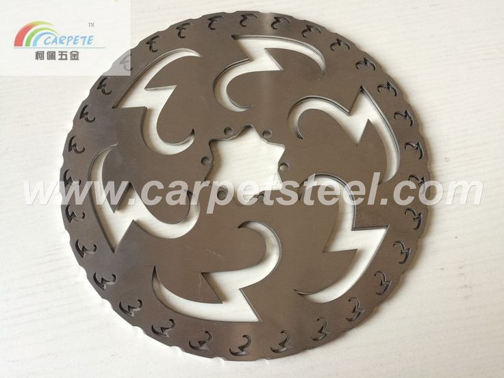 沧州市 in 河北 laser cutting fabrications, raw material as SS304, mountain bike discs,