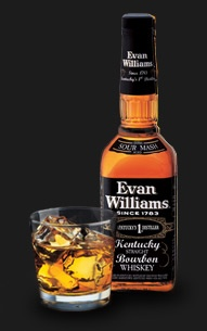Evan Williams Whiskey ~ the only kind I'll drink or have in my home!