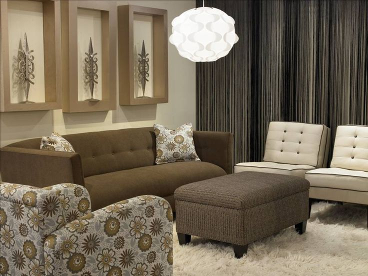 Leather Sleeper Sofa The Downing Sofa u Hess Storage Ottoman by Rowe Architect chair by Robin Bruce on