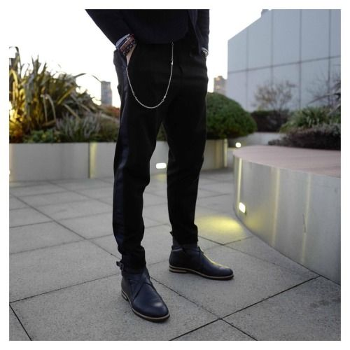 Men's Style Inspiration - leather Boots by Swedish brand Stig Percy