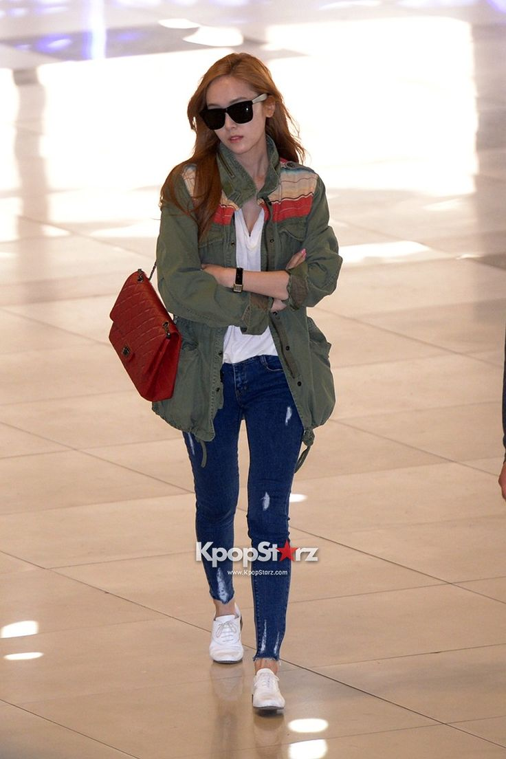 Girls Generation Snsd Shows A Lovely Spring Airport
