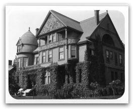 Helen Goodall's home, 1537 Jackson St., Oakland California: Abdu L Baha Visited, Helen Goodall S, 1537 Jackson, Oakland California, Places Abdu L Baha, Photo