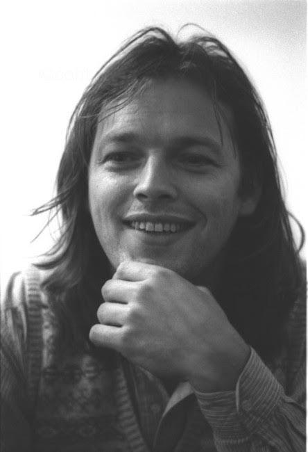 David Gilmour, promoting his 1st solo album, 5 25 1978