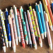 3 pcs Coreano Criativa Dos Desenhos Animados Kawaii 0.5mm Em Branco de Tinta Gel material de Escritório caneta Escola Papelaria Imprensa Recarga de Canetas Gel-tinta Moda Bonito caneta(China (Mainland))
