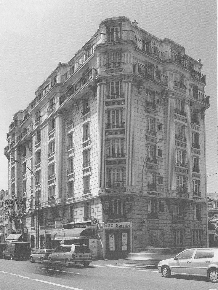 ill 8 Nogent-sur-Marne 25 boulevard de Strasbourg Immeuble construit en 1929 par l'entreprise Imbuti