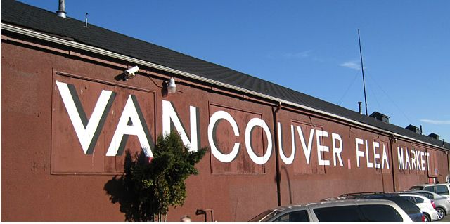 Vancouver Flea Market - The Red Barn Vancouver