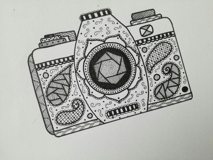 Tekening camera