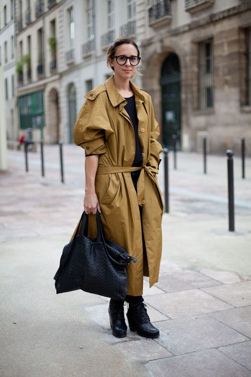 street style trench 2014