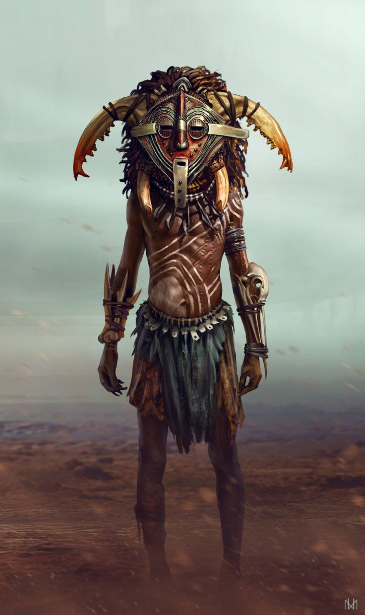ArtStation - The Shaman, Nagy Norbert