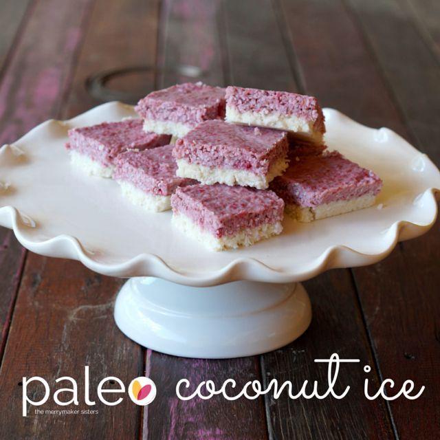 Paleo coconut ice