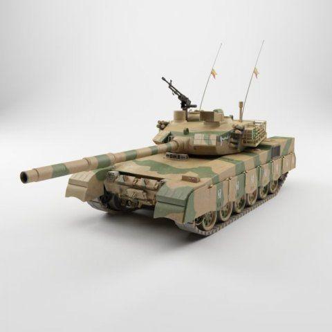 Tank Panzer al khalid