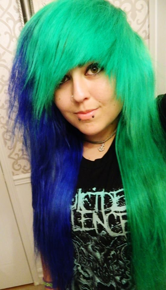 1000 Images About Green Hair On Pinterest Glow The Black And Emerald
