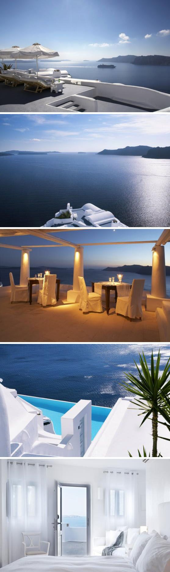 Honeymoon Destinations Luxury Style: Katikies Hotel, Greece