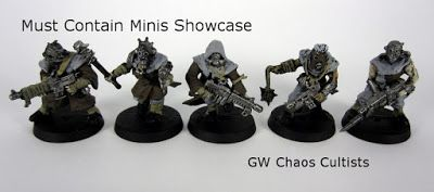 Must Contain Minis: Showcase: GW Chaos Cultists