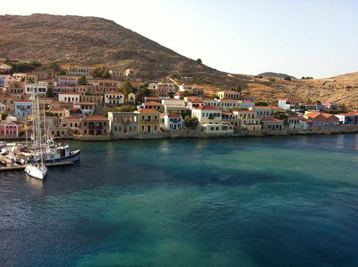 Chalki island, Greece.