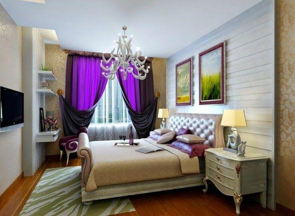 Die besten 25+ Lila Schlafzimmervorhänge Ideen auf Pinterest - schlafzimmer beige lila