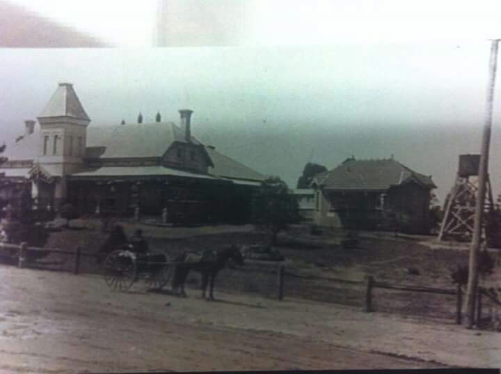 Nepean Cottage Hospital in Penrith,western Sydney (year unknown).A♥W