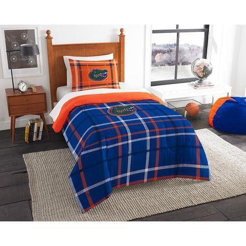 "Florida Gators NCAA Twin Comforter Set (Soft & Cozy) (64 x 86"")"""