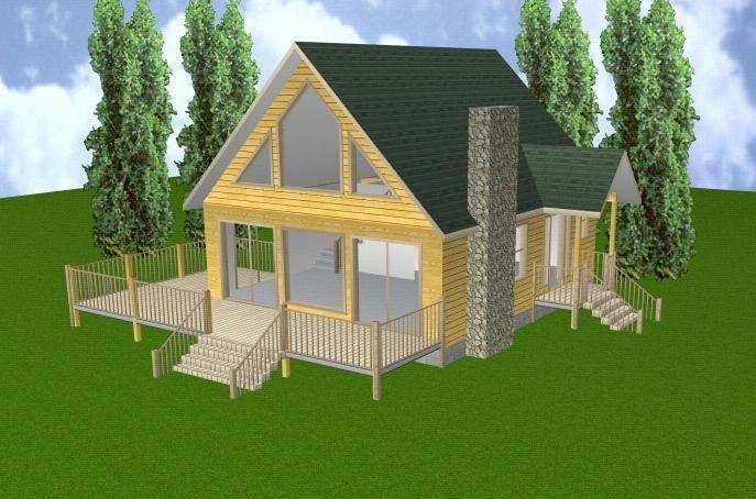 24x28 Cabin W Loft Basement Plans Package Blueprints Material List Cabin Floor Plans Loft Floor Plans Cabin Plans With Loft