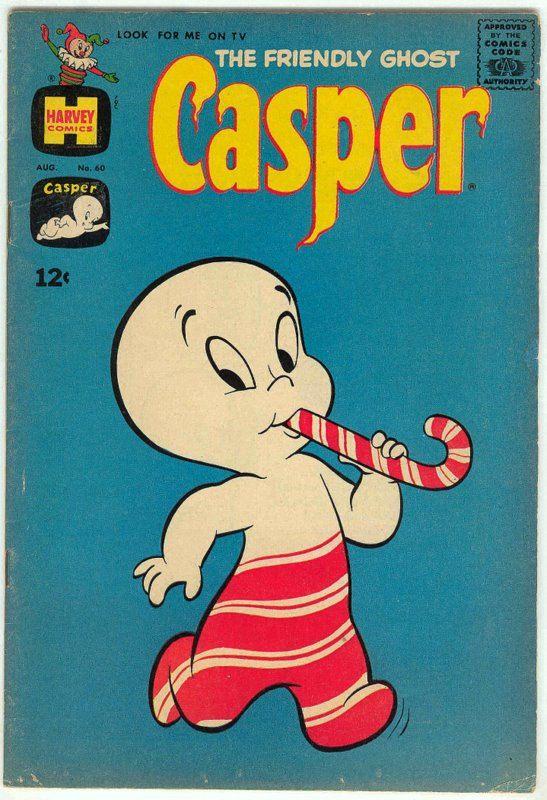 1963  August    Harvey Comics CASPER Friendly by BeyondBarefoot, $12.00