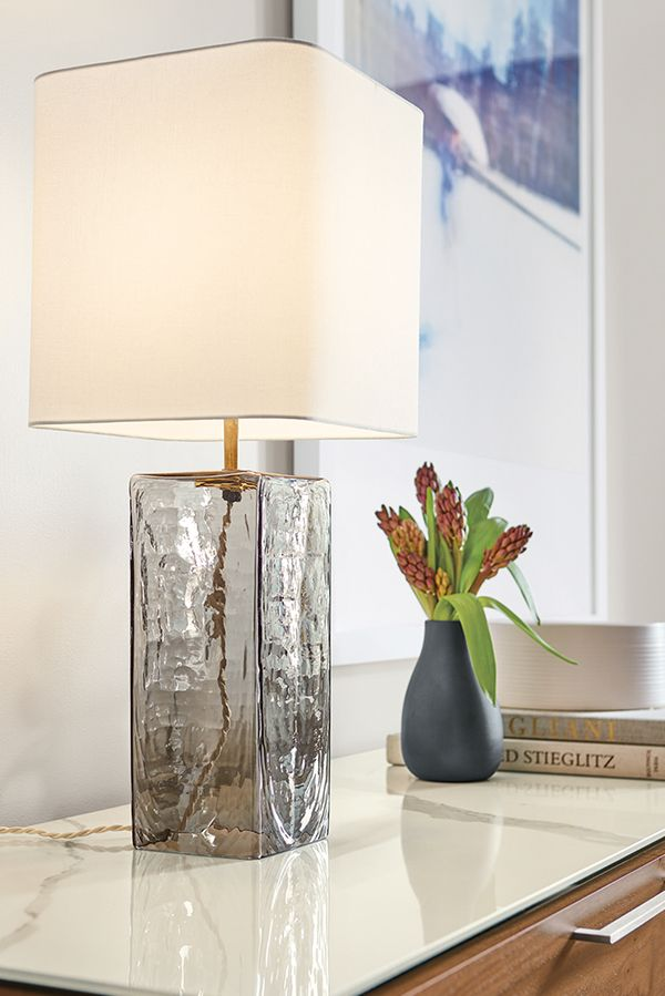 Atwood Glass Table Lamp Table Lamps Modern Lighting Modern
