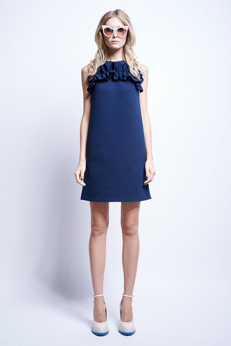 Captain's Daughter Dress - Love Boat | Karen Walker