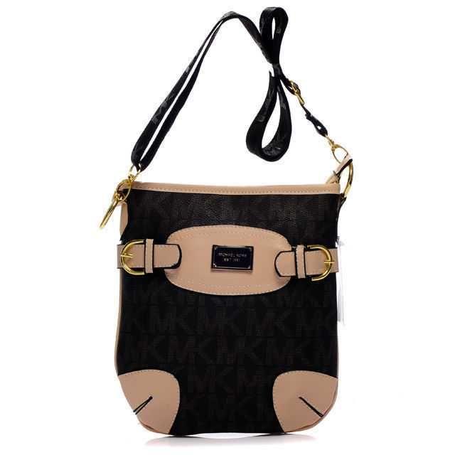 Michael Kors Fulton Logo Crossbody Bags in Black