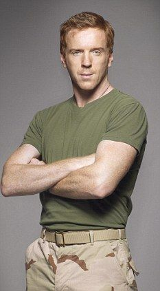 Damian Lewis.  The only hot ginger guy I've ever seen!