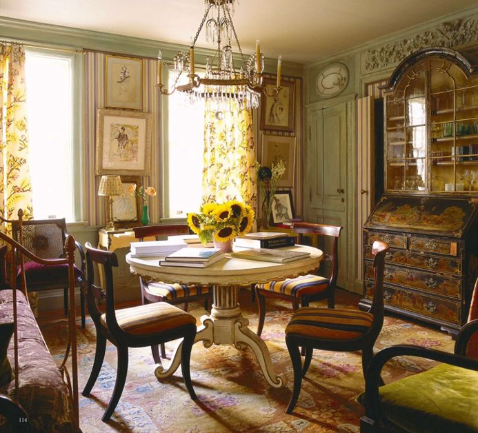 Elegant The New York Home Of Vogue Editor, Hamish Bowles, Designed By Studio  Peregalli, World Of Interiors, November 2014