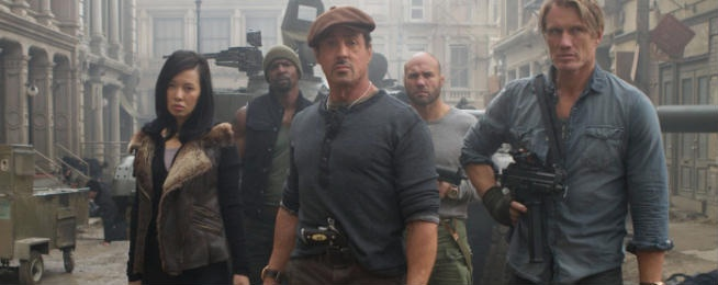 Stuntman querela i produttori de I mercenari 2
