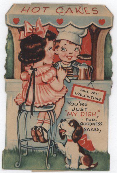 Cute vintage Valentine's card.