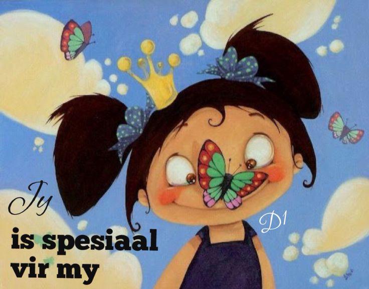 Jy  is spesiaal  vir my